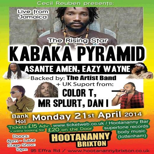 Asante Amen to open up for Kabaka Pyramid