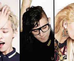 Skrillex -Diplo, G-Dragon