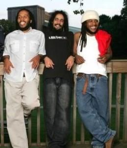 Marley brothers Damian, Ziggy & Stephen