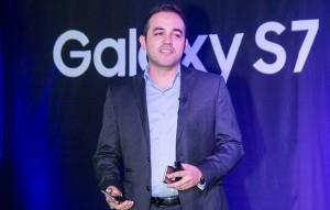 Samsung regional product manager Leonardo Silva