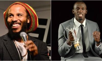Usain Bolt Ziggy Marley Pic