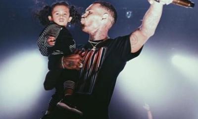 chris & daughter